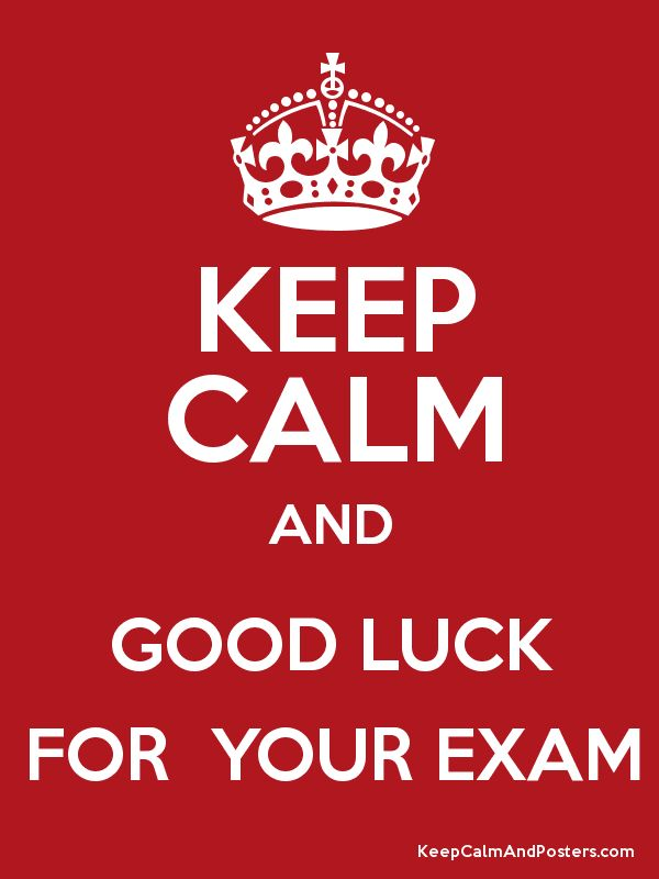 32fd3ff630d457ac117c43108d19f9ec exam time good luck for exams